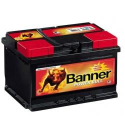 Aкумулатор Banner 77 Ah Profesional Power Bull P