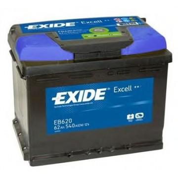 EXIDE EB620 - стартов акумулатор| стартов акумулатор