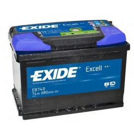 Акумулатор EXIDE ExCELL 74Аh