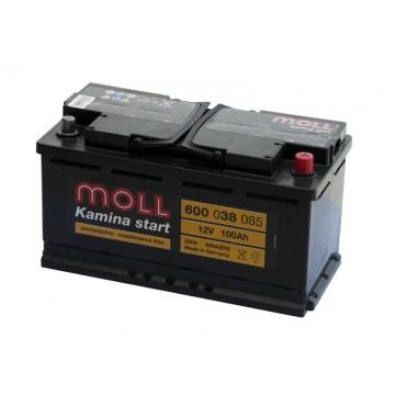 Aкумулатор MOLL 100 Ah M3 plus