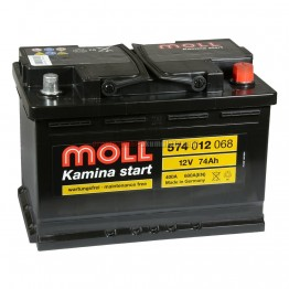 Aкумулатор MOLL 75 Ah M3 plus