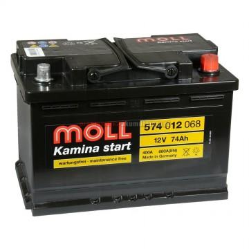 Aкумулатор MOLL 74 Ah