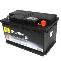 Aкумулатор Starline 80 Ah десен+