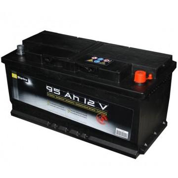 Aкумулатор Starline 91 h Asia десен+ляв+