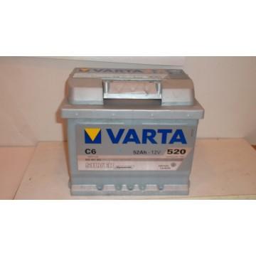 Акумулатор Varta Silver Dinamic52 Ah
