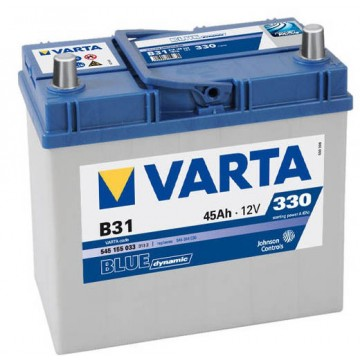 Aкумулатор Varta Blue Dinamic Asia 45 Ah, ляв+