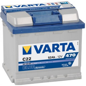 Акумулатор Varta 52 Ah BLUE dynamic