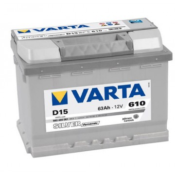 Акумулатор Varta 63A h SILVER dynamic