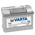 Varta 74Ah SILVER dynamic